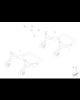 Adapter wahacza srebrny - 77027724363