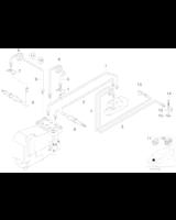 Elastyczny przewód hamulcowy przód BMW E34 E32 E31 - 34321159891