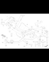 Wahacz przód prawy BMW E65 E66 E63 E64 730 740 745 750 M6 - 31126777938
