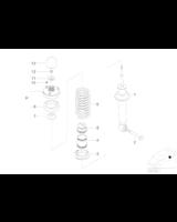 Amortyzator dodatkowy tylny - 33531096100