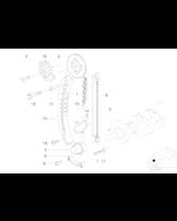Łańcuch rozrządu BMW E34 E36 E46 Z3 518i 316i 318i M43 - 11311734392