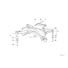 Rubber mounting - 33171090365