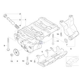Przewód ssący BMW - 11417500328