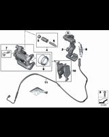 Czujnik klocków hamulcowych tył BMW F20 F21 F22 F23 F30 F31 F32 F33 F34 F36 - 34356792292