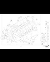 Blok silnika z tłokami - 11112299021