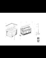 Akumulator, nienapełniony - 61211357533