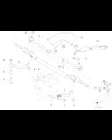 Końcówka drążka kierowniczego prawa BMW E39 535i 540i M5 - 32211091724