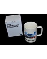Kubek ceramiczny biały BMW Motorsport E30 E36 E46 E39 E38 E90 E87 E81 F01 E60 E65 F10 F30 F20 F21 X1 X3 X5 X6 - 80232446454