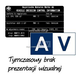Oryginał BMW - 13111260860