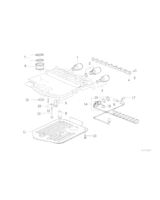 Filtr automatycznej skrzyni BMW E31 E38 E32 E39 540 740 750 840 850 - 24341422419