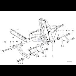 Dla samochodów z Hydr. układ kierowniczy, Wspornik - 32411270324