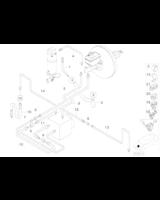 Elastyczny przewód hamulcowy BMW E38 725 728 730 735 740 750 - 34301163155