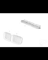 Atrapa nerka prawa BMW E36 prod. od 1996r - 51138195152