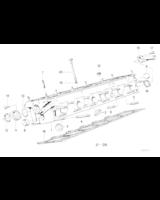 Kpl. śrub do głowicy silnika BMW E30 E21 E34 320i 323i 325i 520i 525i M20 - 11121726478