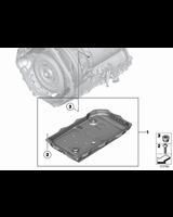 Filtr automatycznej skrzyni biegów 8HP BMW X5 X6 X1 F01 F10 F07 F06 F11 F12 F20 F21 F23 F30 F32 F36 G11 - 24118612901