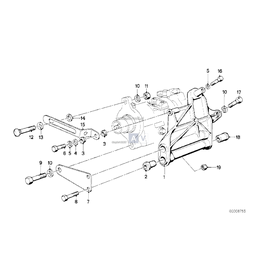 Wspornik komresora klimatyzacji - 64521260209