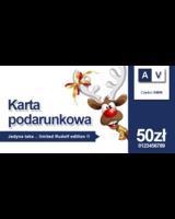Karta podarunkowa 50 zł Auto-Voll