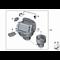 Wentylator wnętrza BMW F07 F10 F11 F01 F02 F06 F12 F13 520 525 528 530 535 550 730 740 750 760 640 650 - 64119242607