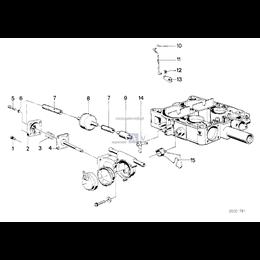 Przewód elastyczny podciśnieniowy - 11731267004