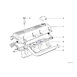 Przewód elastyczny odpowietrzający - 11151727851