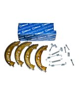 Szczęki hamulcowe i zestaw naprawczy BMW E87 E46 E90 E91 E81 F20 F21 F30 F31 F32 - 34416761291