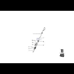 Rura prowadząca części górnej - 11431256696