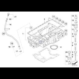 Uszczelka metalowa - 11137545293