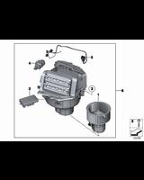 Regulator rezystor opornik jeż wentylatora dmuchawy BMW F01 F02 F06 F07 F10 F11 F12 F13 G12 - 64119355981