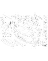 Osłona komory silnika boczna, prawa - 51757033756