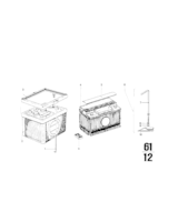 Akumulator - pakiet zasilania - 61219061637