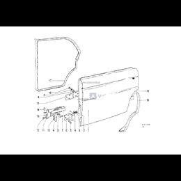 Ogranicznik drzwi - 51210392329