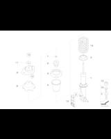 Amortyzator tylny lewy - 33526782215
