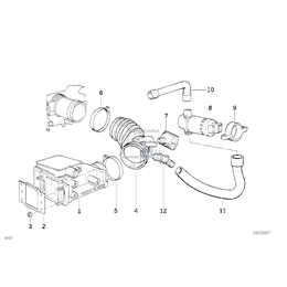 Rubber mounting - 13411247135
