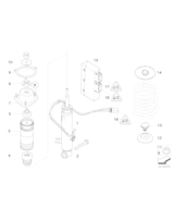 Amortyzator tylny lewy - 37126794541