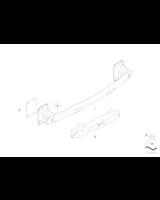 Absorber uderzenia tylny lewy - 51127185721