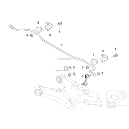 Stabilizator tylny - 33552229136