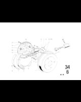 200 mm, Bęben hamulcowy - 34213460010