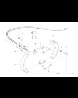 Zestaw naprawczy szczęk BMW E30 316i 318i 318is 320i 324td 325i 325e E21 323i - 34419064266