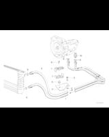 4HP22, Przewód chłodnicy oleju dopływowy - 17221719195