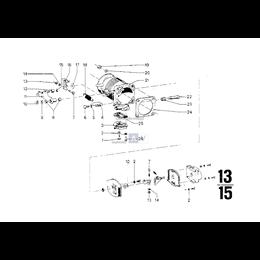 Sprężyna naciągowa - 13541261710