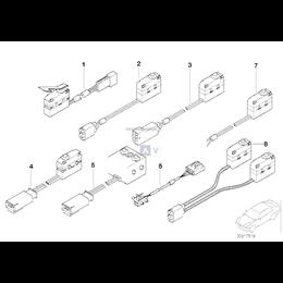 Mikroprzełącznik zamka drzwi BMW E38 E39 725 728 730 735 740 750 520 523 525 528 530 535 540 M5 - 61318360878