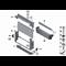 Intercooler chłodnica powietrza doładowującego BMW F01 F07 F10 F11 518d 520d 525d 530d 730d - 17517805629