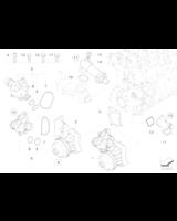 Termostat BMW E38 E39 E46 X5 330d 525d 530d 730d 3,0d prod po 09.99 - 11512354056