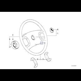 Przycisk lewy kierownicy BMW E36 316i 318i 318tds 318is 320i 323i 325i 325tds 328i - 32331160270