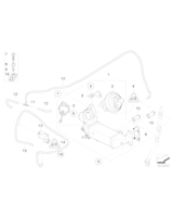 Zawór AGR EGR BMW E60N E81 E90 E88 E91 E92 E93 E83 X3 320d 318d 118d 120d 520d - 11717801942