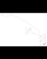 Guma stabilizatora tył BMW E70 E70N E71 X5 X6 30d 30i 40i 40d 50i 35d 35i - 33556772082