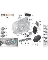 Żarówka xenon D1S BMW E60 E61 E63 E65 E70 E71 E87 E81 E83 E84 E90 E91 E92 F01 F07 F10 F11 F20 F30 F36 MINI - 63217217509
