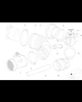 Przepływomierz BMW E36 318is 318ti E38 750i E31 850Ci - 13621736224