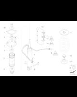 Amortyzator tylny lewy - 37126785371