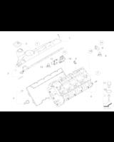 Zestaw uszczelek pokrywy głowicy BMW E65 745d - 11120403101
